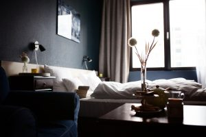 dormir bem longe de casa