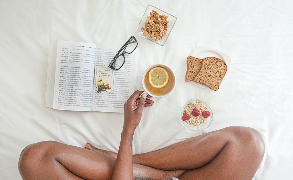 Benefícios da leitura antes de dormir